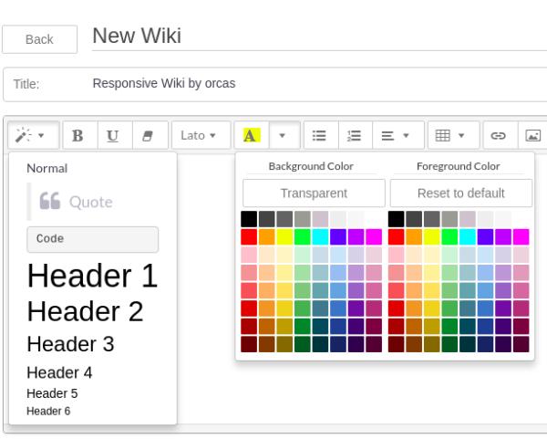 orcas responsive wiki rostock