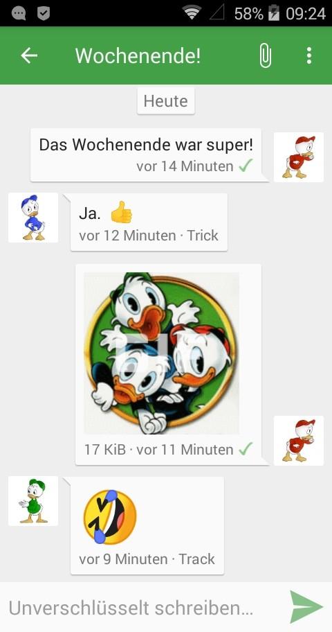 Conversations Screenshot